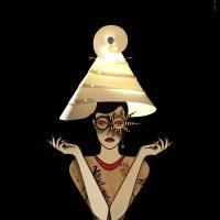 Lucifero Gioia Table Lamp