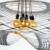 Zara Net Large Pendant