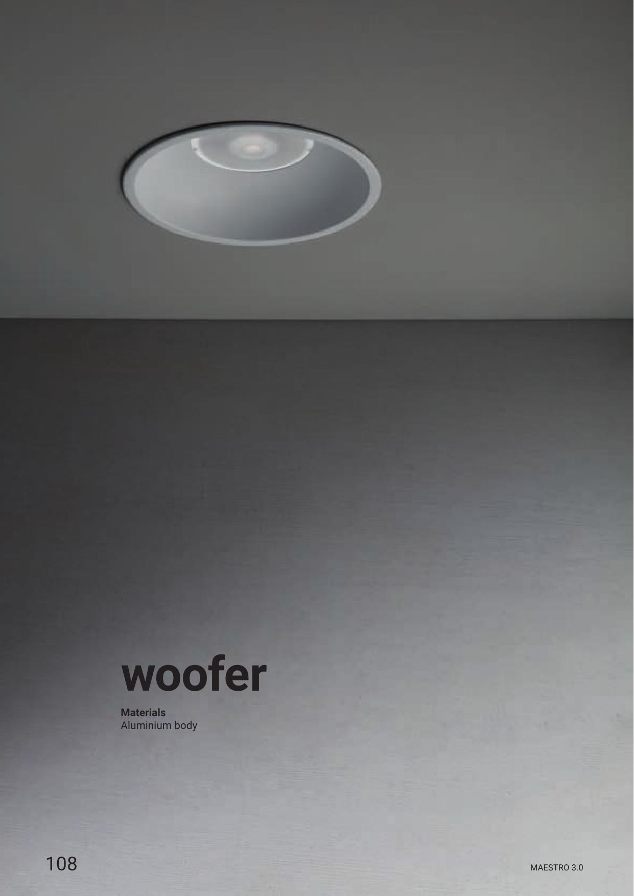 Linea Light – Woofer