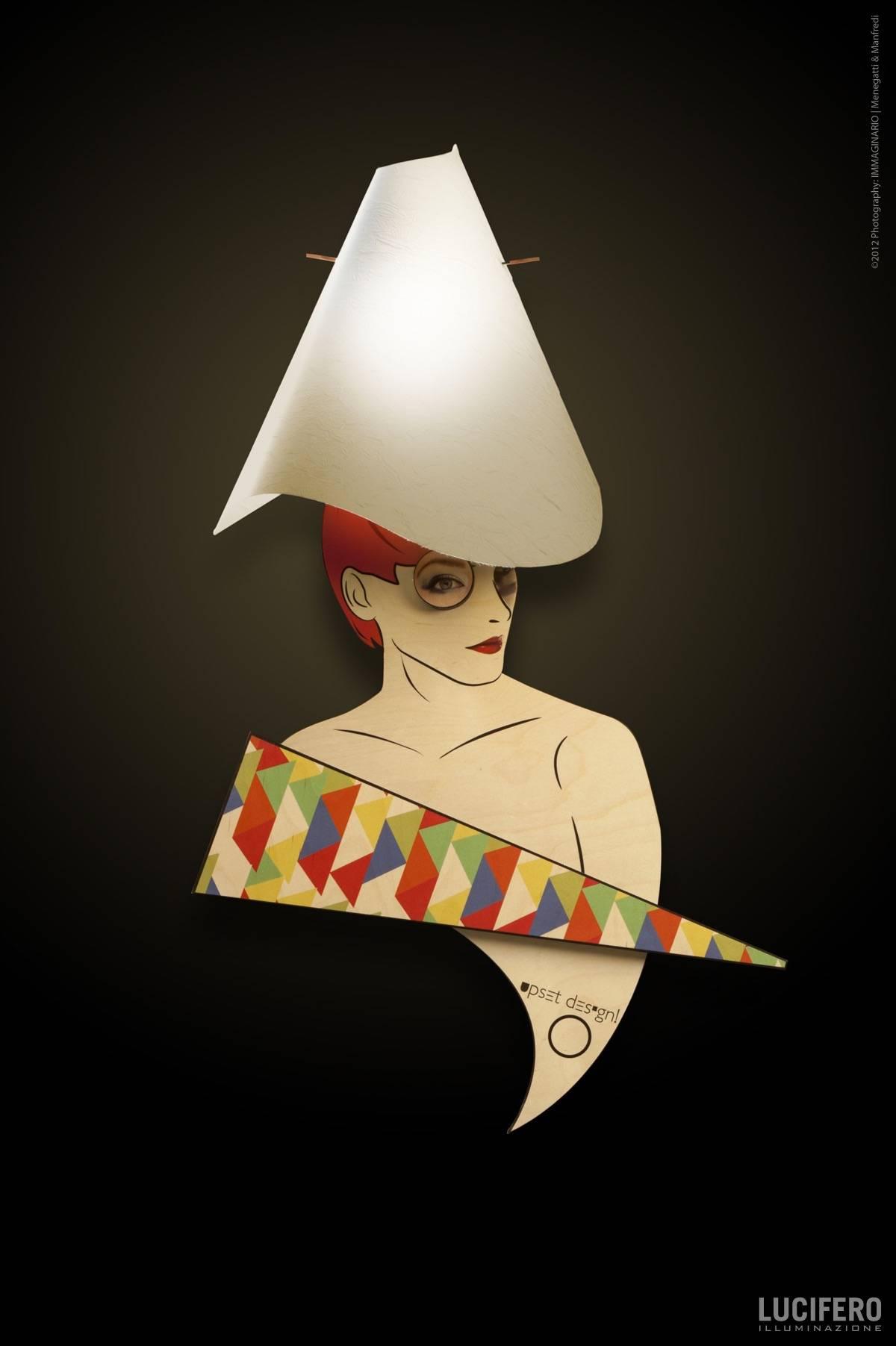 Lucifero Nicole Wall Light