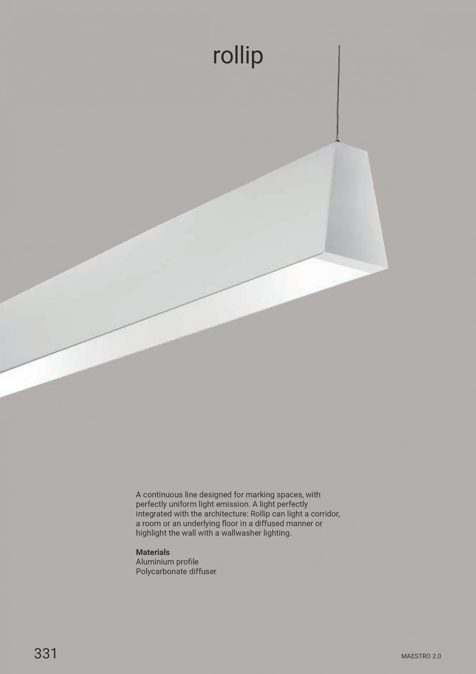 Linea Light – Rollip System