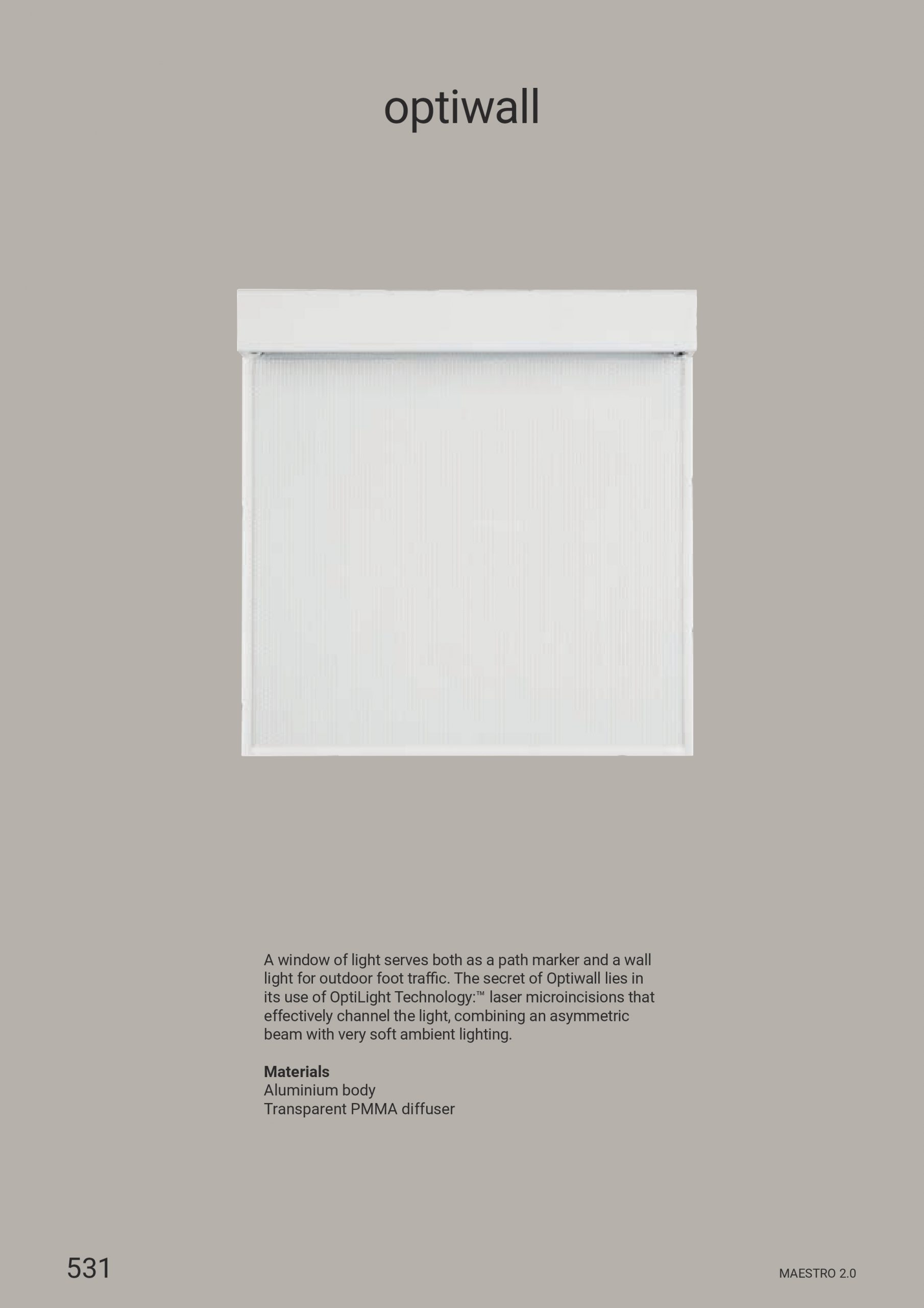 Linea Light – Optiwall