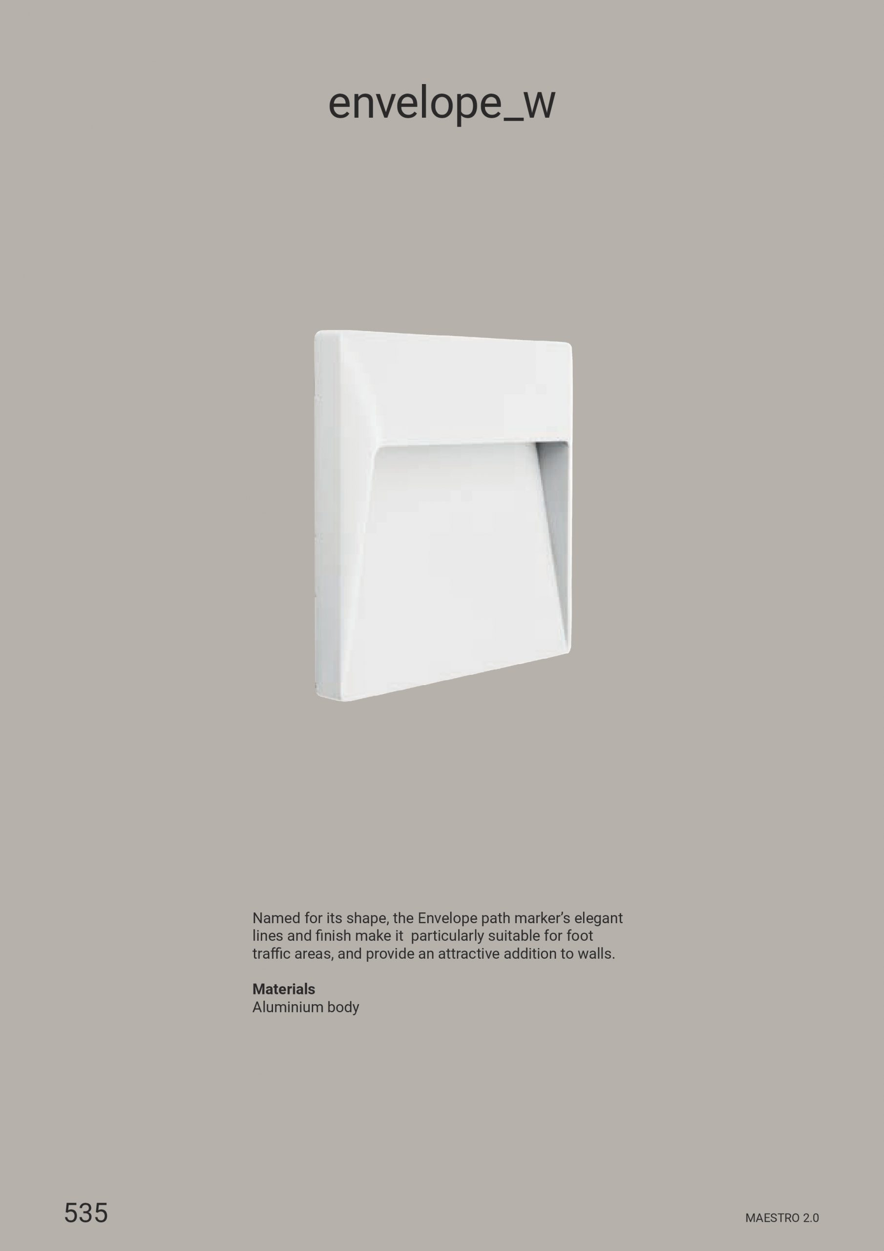 Linea Light – Envelope_W