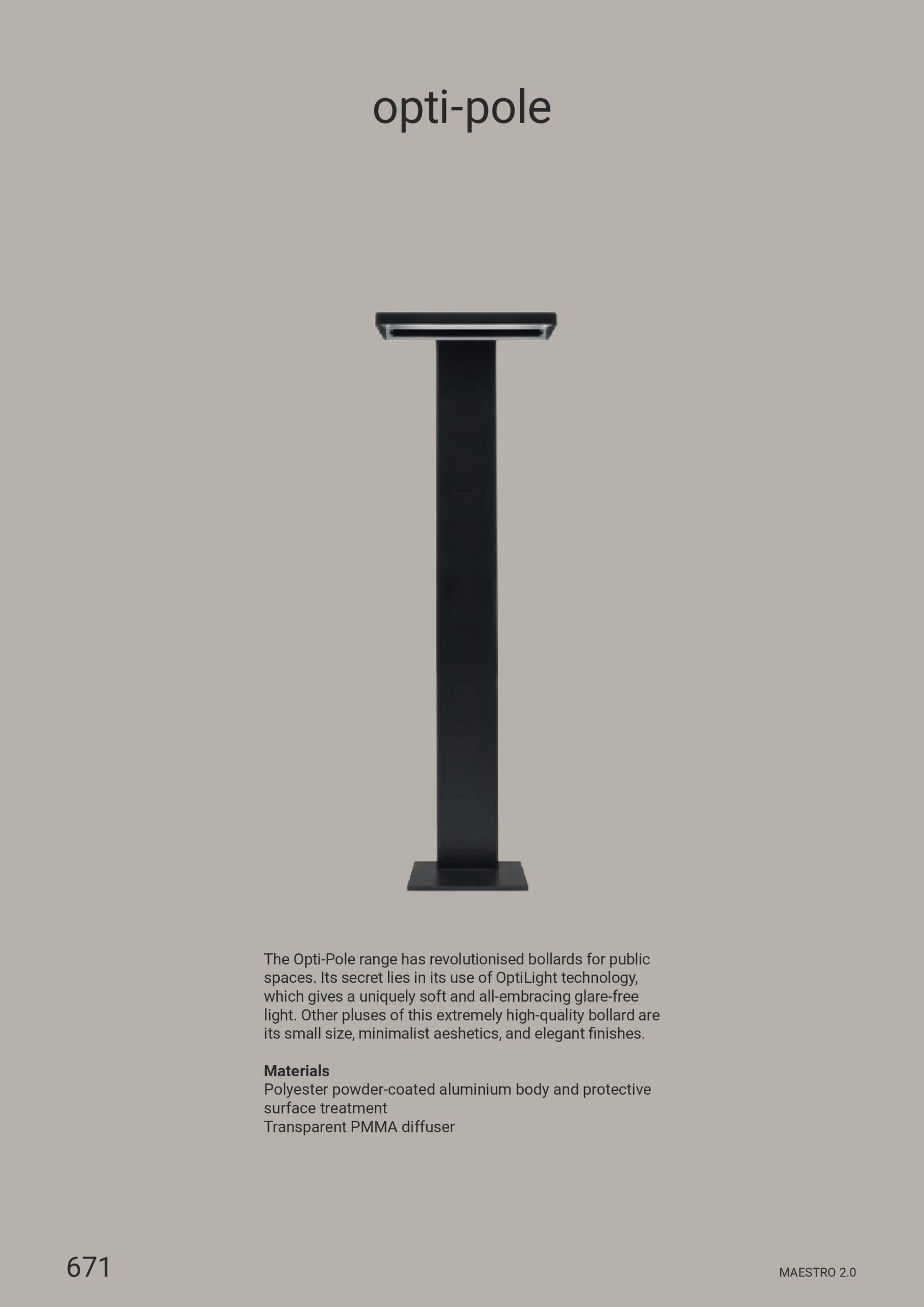 Linea Light – Opti-Pole