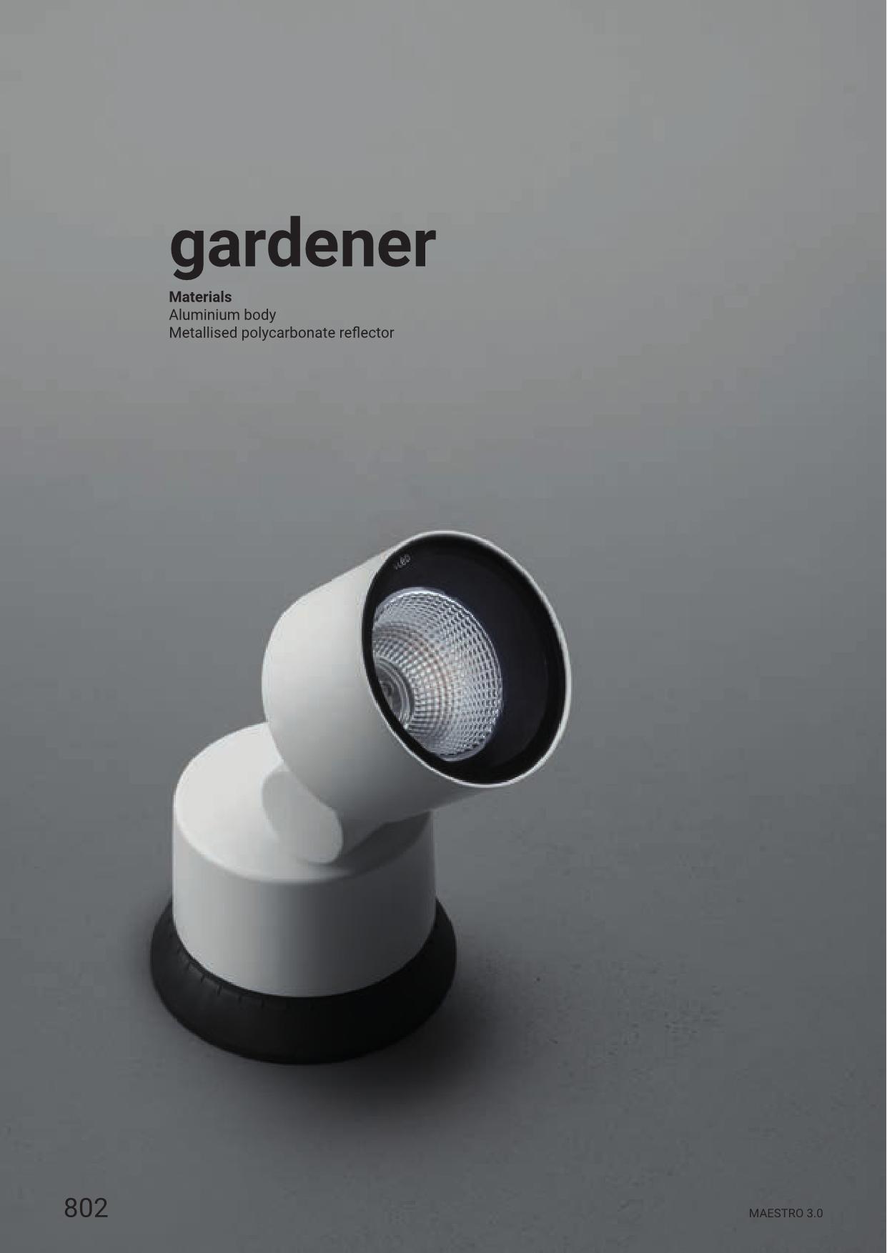 Linea Light – Gardener